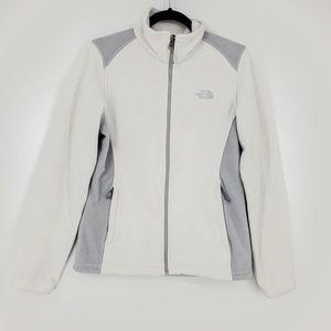 The North Face Full Zip Fleece Jacket Sz M